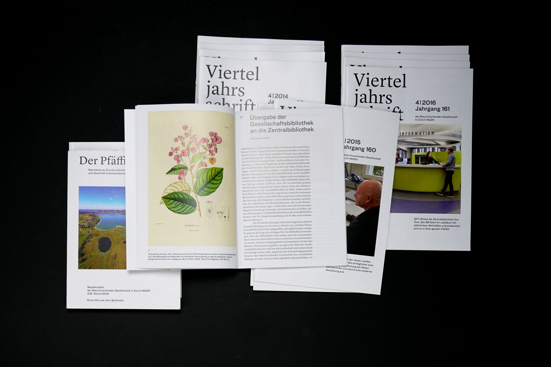 Barbara  Hoffmann Naturforschende Gesellschaft ZH