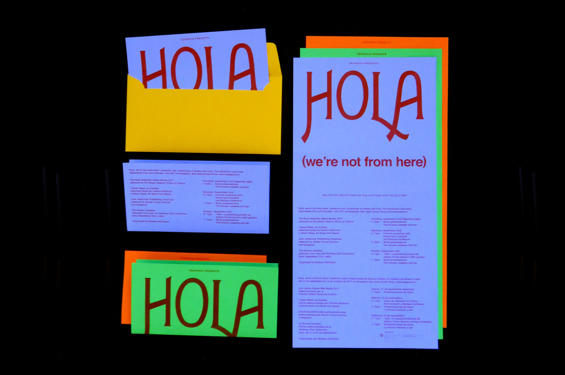 Barbara  Hoffmann Hola (we're not from here)
